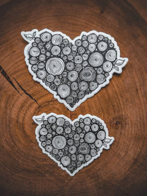Wild Heart Stickers