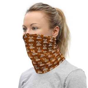 Bighorn Sheep face Mask hiking buff Neck Gaiter
