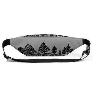Mountains and trees Fanny Pack