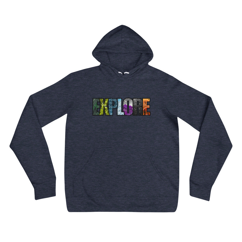 Load image into Gallery viewer, Explore Unisex hoodie