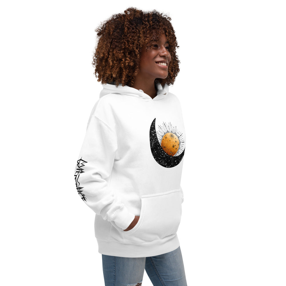 Load image into Gallery viewer, Moon and Sun Unisex Hoodie