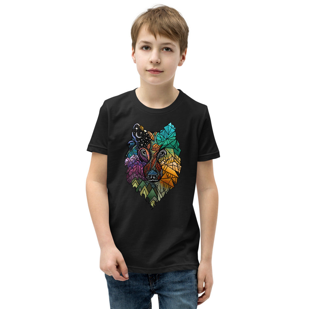 Wolf Prism Youth Short Sleeve T-Shirt