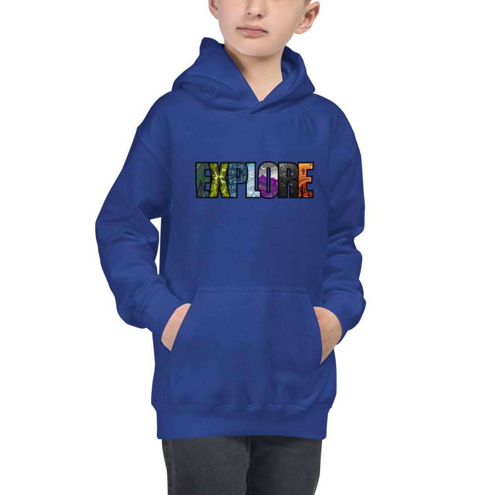 Load image into Gallery viewer, Explore Kids Hoodie