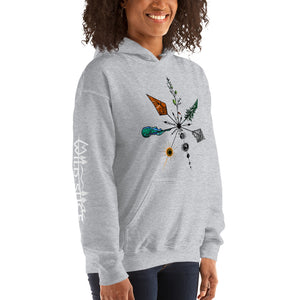 Nature's Compass True North Gildan Unisex Hoodie