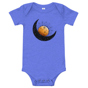 Moon and Sun baby bodysuit onesie