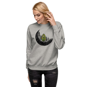 Forest Moon Unisex Fleece Pullover