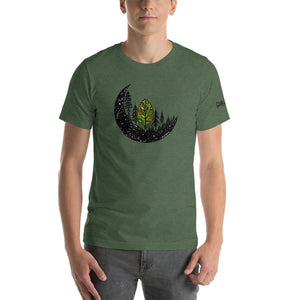 Forest Moon Short-Sleeve Unisex T-Shirt