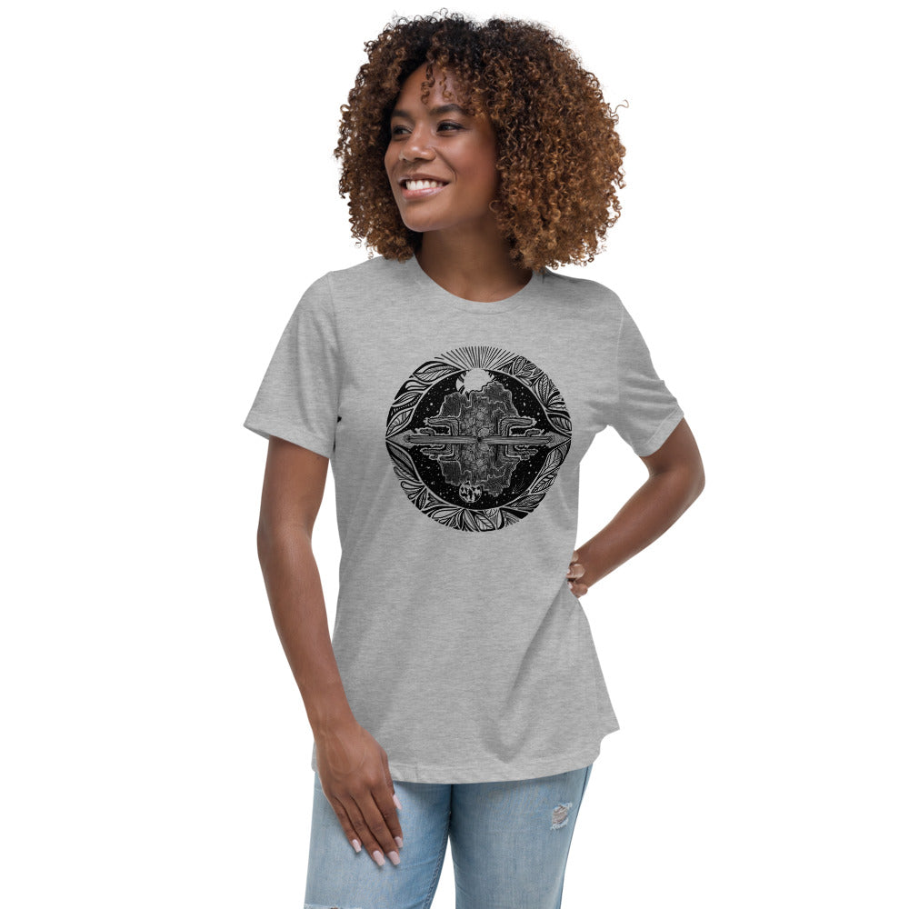 Load image into Gallery viewer, Desert Vibes Women's Relaxed T-Shirt