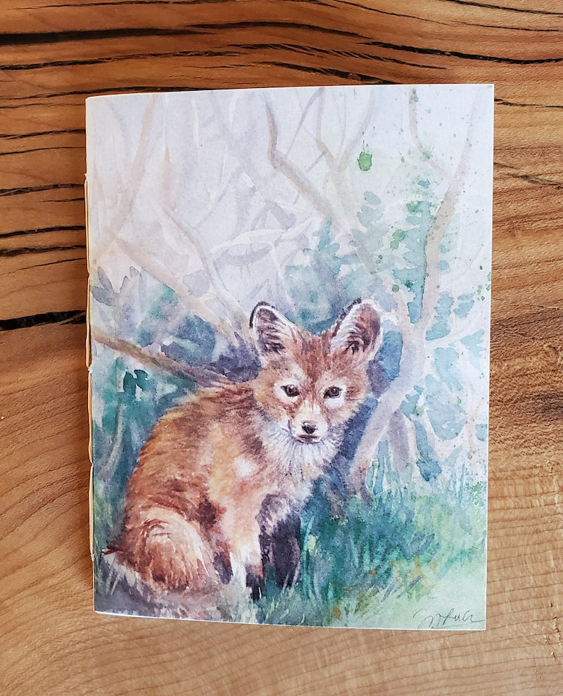 Pocket Notebook, Fox Kit