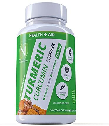 Nutrakey Turmeric Curcumin Complex 90 caps - Supplement Xpress Online
