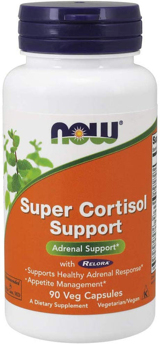 NOW Super Cortisol Support 90 cap - Supplement Xpress Online