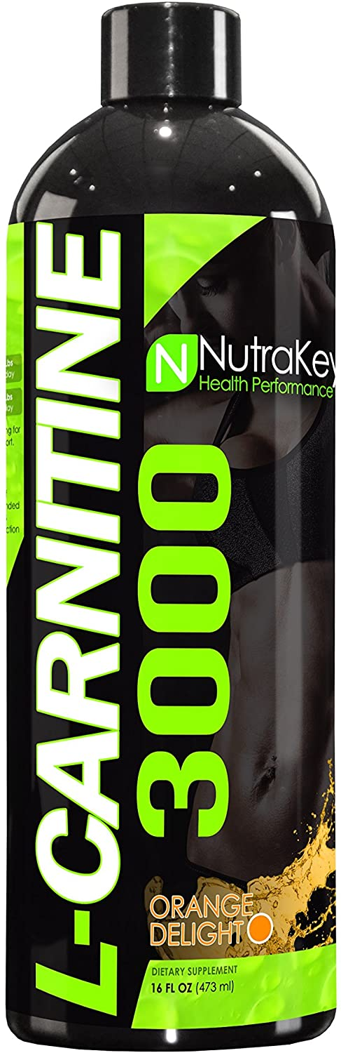 Nutrakey L-Carnitine 3000 - Supplement Xpress Online