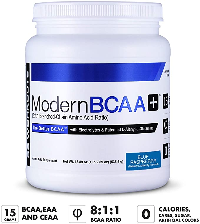 Modern Sports Nutrition BCAA+ 30sv - Supplement Xpress Online