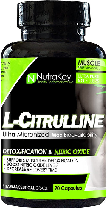 Nutrakey L-Citrulline 90 caps - Supplement Xpress Online