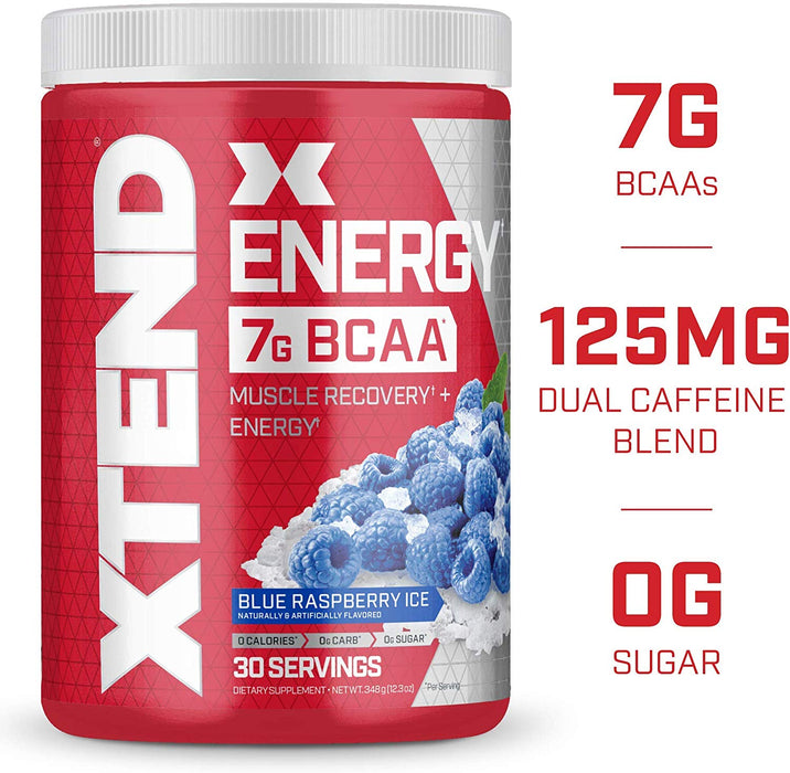 Scivation Xtend Energy 30sv Blue Raz - Supplement Xpress Online