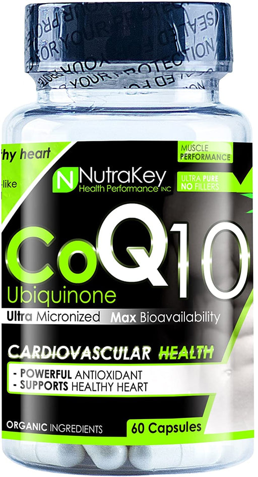 Nutrakey CoQ10 60 caps - Supplement Xpress Online