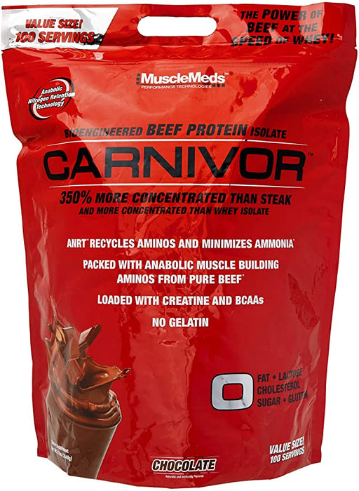 Muscle Meds Carnivor 8lbs Chocolate - Supplement Xpress Online