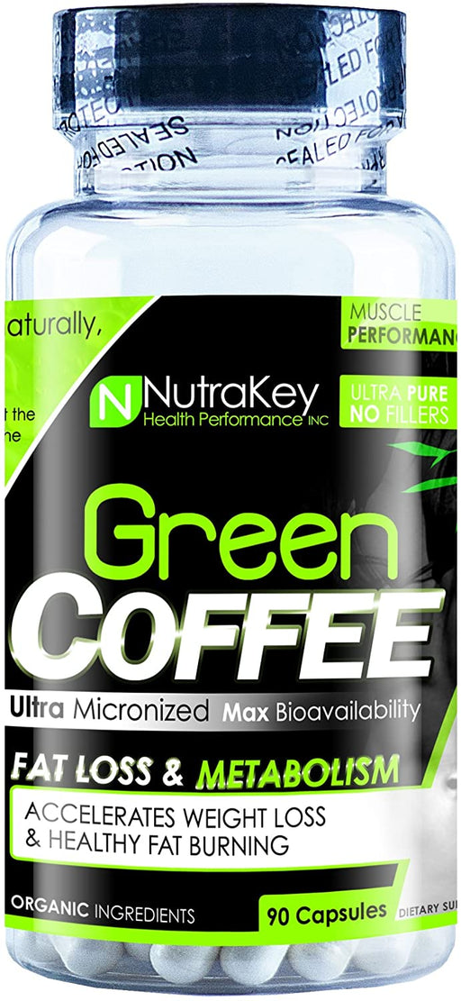 Nutrakey Green Coffee Bean 90caps - Supplement Xpress Online