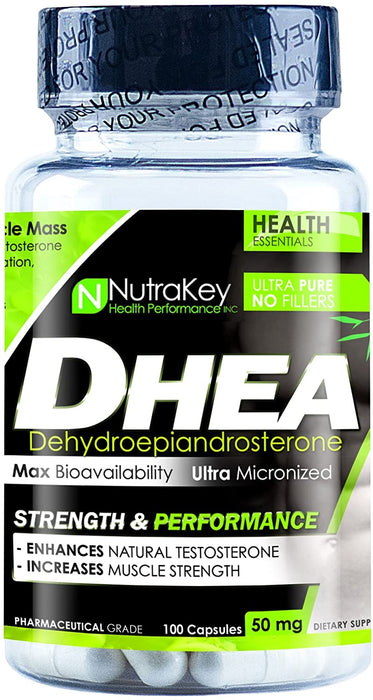 Nutrakey DHEA 50mg 100 caps - Supplement Xpress Online