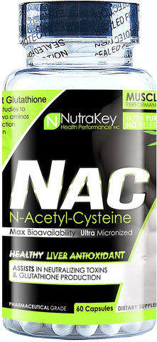 Nutrakey NAC 60 caps - Supplement Xpress Online