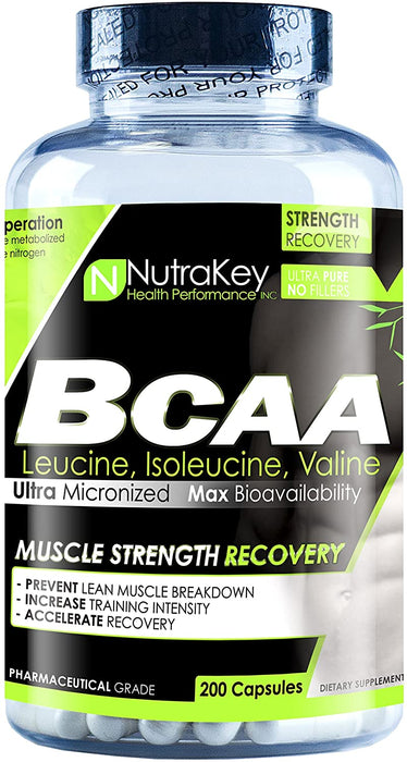 Nutrakey BCAA 1500 200caps - Supplement Xpress Online