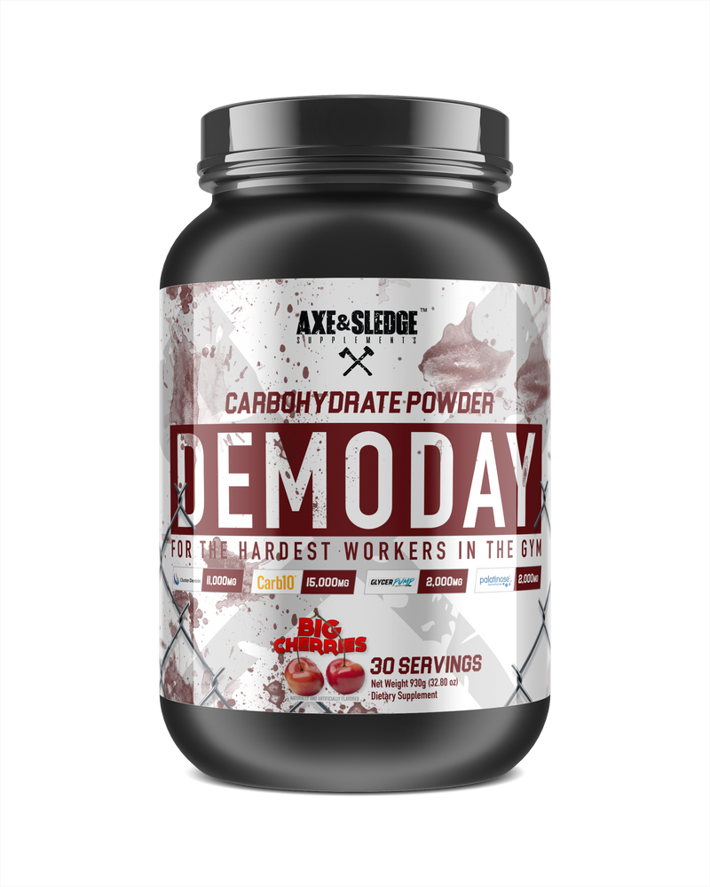 Axe & Sledge Demo Day Carbohydrate Powder 30sv - Supplement Xpress Online