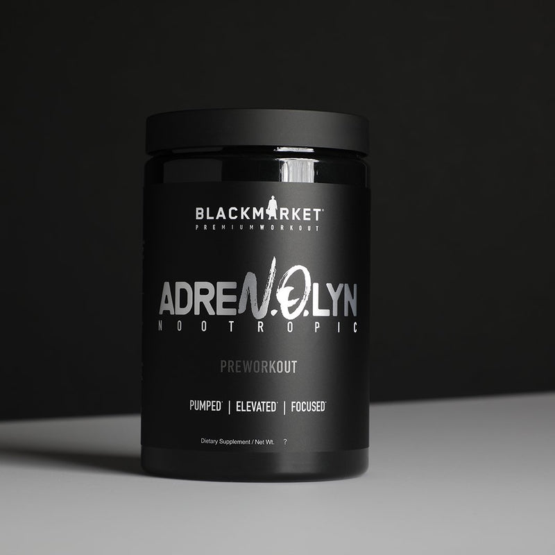Blackmarket AdreNOlyn Nootropic Pre-workout 25sv - Supplement Xpress Online