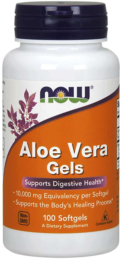Now Foods Aloe Vera Gels - Supplement Xpress Online