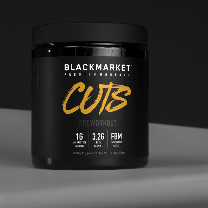 BlackMarket CUTS 30sv - Supplement Xpress Online