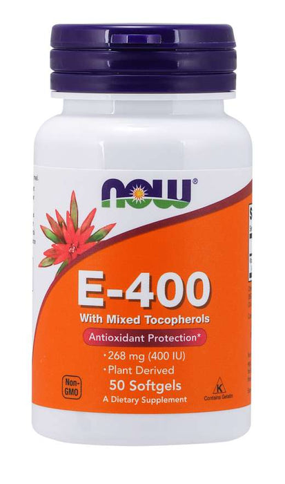 Now Foods Natural E-400 - Supplement Xpress Online