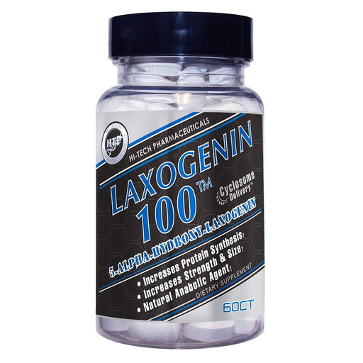Hi-Tech Laxogenin 100mg 60ct - Supplement Xpress Online