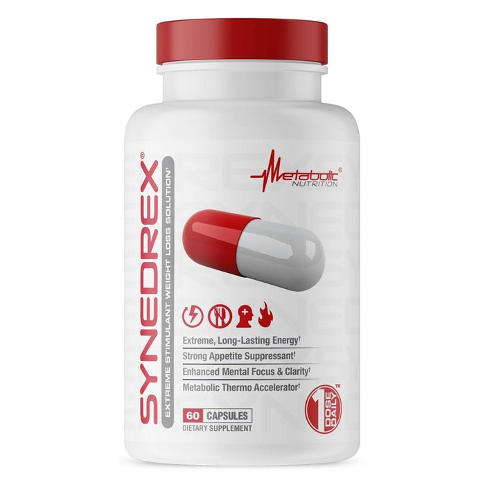 Metabolic Nutrition Synedrex 60 Caps - Supplement Xpress Online