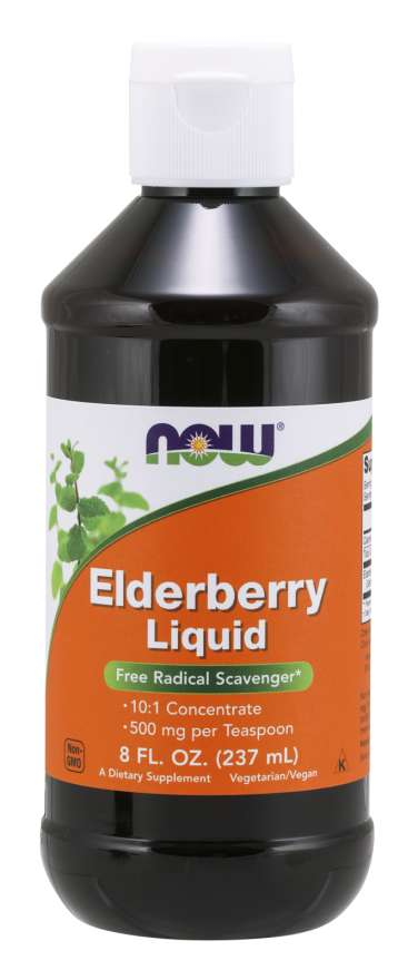 Now Foods Elderberry Liquid - Supplement Xpress Online