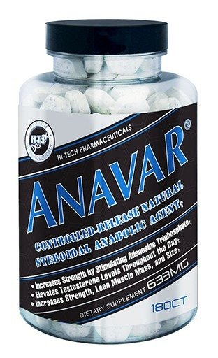 Hi-Tech Anavar 180 Cap - Supplement Xpress Online