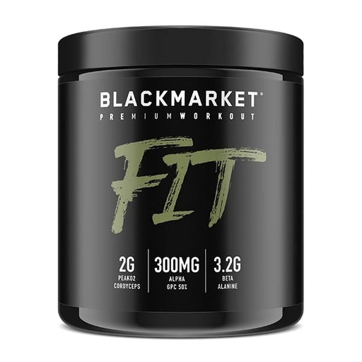 BlackMarket FIT 30sv - Supplement Xpress Online