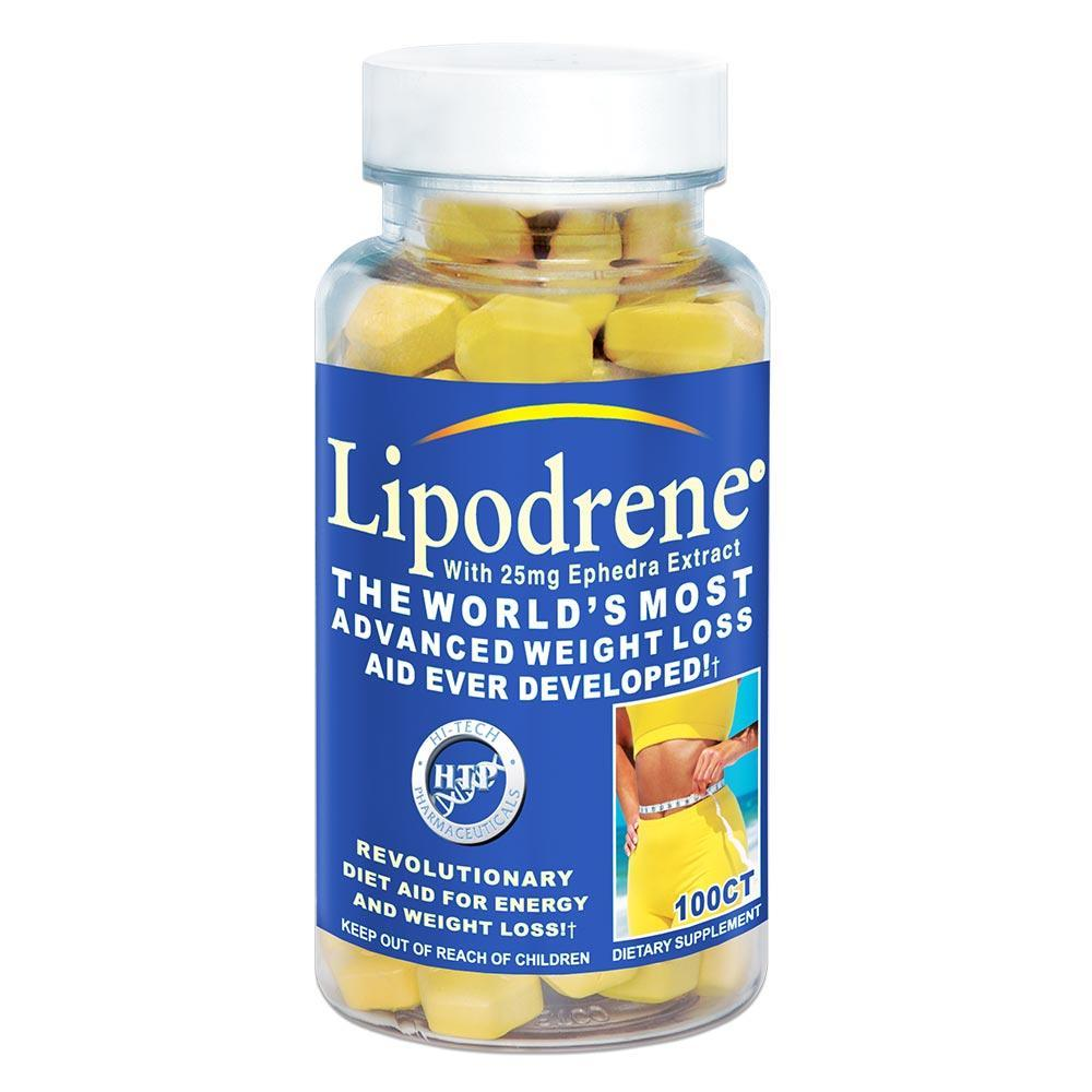 Hi-Tech Lipodrene Ephedra 100 Cap - Supplement Xpress Online