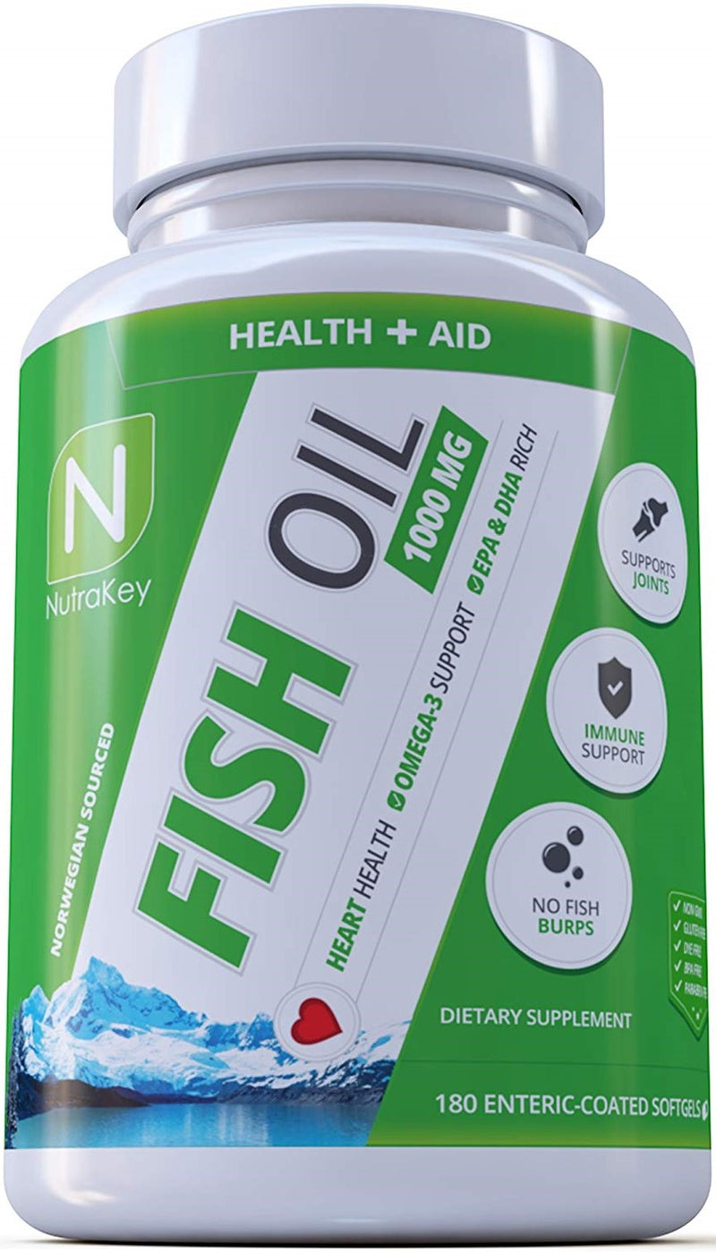 Nutrakey Fish Oil 180 softgels - Supplement Xpress Online
