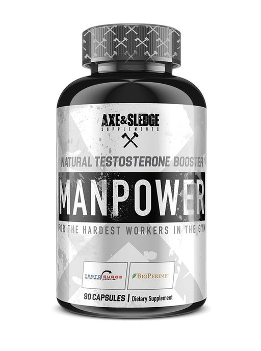 Axe & Sledge Manpower 90caps - Supplement Xpress Online