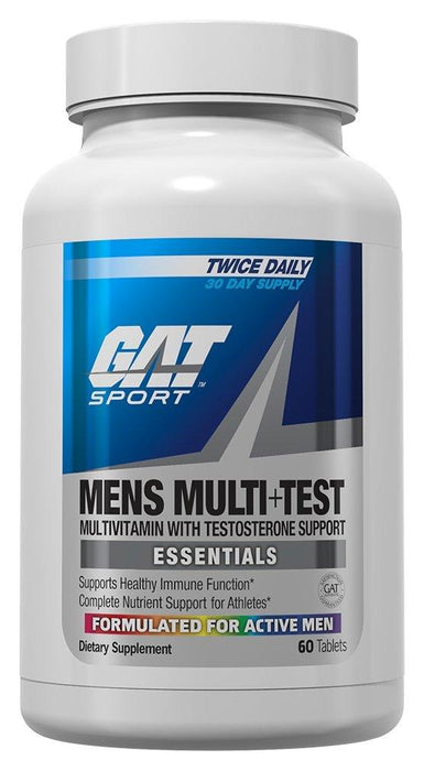 GAT Mens Multi+Test 150 caps - Supplement Xpress Online