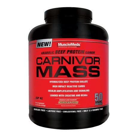 Muscle Meds Carnivor Mass 5.9lb - Supplement Xpress Online