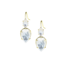 Load image into Gallery viewer, DAYDREAMER DROP EARRINGS-Ivory Pearl
