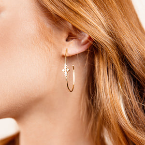 BELIEVER HOOP EARRINGS