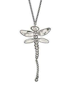 UNO DE 50 Long Dragonfly Necklace