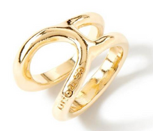 Load image into Gallery viewer, UNO DE 50 Shortcut Ring-Gold