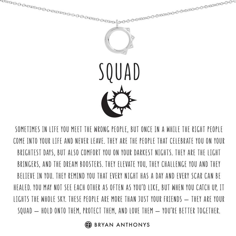 Squad Necklace by BRYAN ANTHONYS
