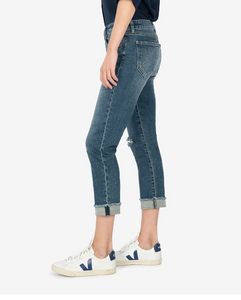 Amy Crop Straight Leg Denim