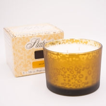 Load image into Gallery viewer, STATURE MUTED GOLD LEOPARD CANDLE-2 Scents