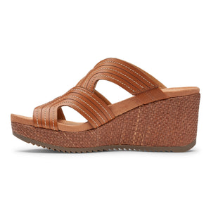 VIONIC Malorie Wedge-Tan
