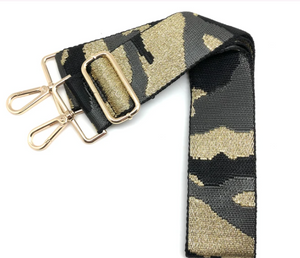 Interchangeable Strap-Grey & Gold Camo