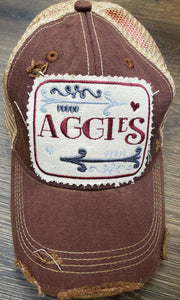 AGGIE PATCH CAP